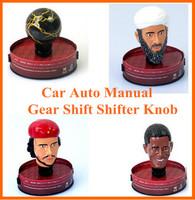 2014 new Universal  obama/Bin Laden/Che Guevara  Car Auto Manual Gear Shift Shifter Knob Free shipping