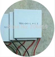 5PCS/LOT TEG1-241-1.4-1.2 Thermoelectric Power Generation Peltier Module 55x55MM 7V 1.25A