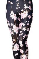 ZCXR New Arrival Fashion All-match Flower 3D Printed Women Legging High Elastic Slimming Plus size Fitness Lady Leggings