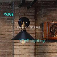 Edison Lamps Landscape Wall Lamp Courtyard Lighting Balcony Stairs Bedside Wall Light Black Arandelas De Parede Bathroom Lights