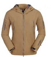 Free shipping the outdoor TAD sharkskin soft shell charge Warm grasp a pullover Soft shell dress charge