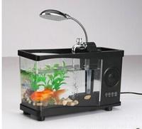 Fashion aquarium wireless bluetooth stereo The bluetooth music aquarium speakers Creative gifts