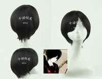 Manufacturer specials direct black anime series high temperature silk wig 602 e