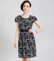 2014 Summer New Fashionable Chiffon Dress(freeshiping)