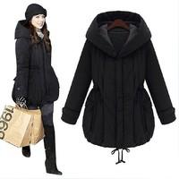 Plus Size S-XXL 2014 New Winter Women Thick Cotton Padded Women Parkas Coat