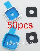 50PCS New repair main Back camera lens circle for Samsung Galaxy S5 G900 G900H Free shipping