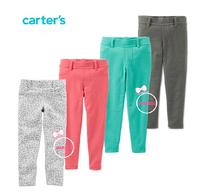 4 colors, 2014 Carter's Toddler Girls Stretch Denim Jeggings , Kids Girls Fashion Leggings, Freeshipping