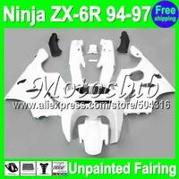 7gifts Unpainted Full Fairing Kit For KAWASAKI NINJA ZX-6R 94-97 ZX6R ZX 6R 6 R 94 95 96 97 1994 1995 1996 1997 Fairings