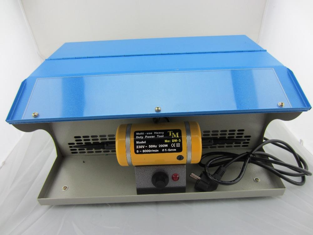 Hot sale jewelry polishing machine mini table polisher,Polishing motor with Dust Collector,mini jewelry bench lathe(China (Mainland))
