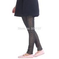 Autumn Winter Maternity Clothes Pregnant Women/ Women's Plus Size Leopard Warm Pants/ Trousers B212