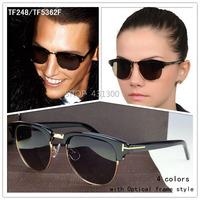 tf sunglasses tom for sunglass women Polarized mens sunglasses women brand designer eyeglasses vintage round sun glasses TF248
