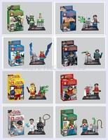 80PCS Action Toys SY250 superhero blocks Movie minifigures characters block toys Buliding block toys Educational bricks figure