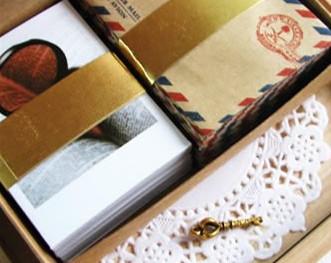 FreeShipping Vintage 60Cards+60 Kraft Envelopes+60 Stickers LOMO Mini Dessert Card Small Card Postcard Greeting Cards Set(China (Mainland))