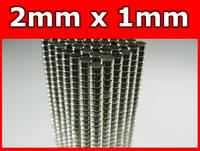Disc Rare Earth Neodymium Magnets N38 2mm x 1mm