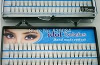 20sets/Lot 8/10/12mm no knot Makeup Individual Black False Fake Eyelash Cluster Eye Lashes Extension YB-03599