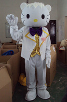 Adult size Male Hello kitty Mascot costume Free shipping