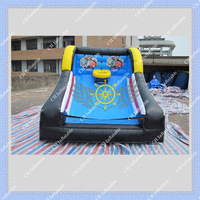 Inflatable Basketball Game Hoop CE or ULCertificated Blower Included Good Quality DHL Fast Shipping
