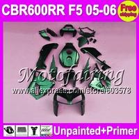 7gifts Unpainted+Primer Fairing For HONDA CBR600RR 05-06 CBR 600RR 600 CBR600 RR F5 CBR 600F5 05 06 2005 2006 Fairings