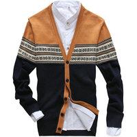 New arrival autumn winter V-neck cardigan for men slim hot mens sweaters