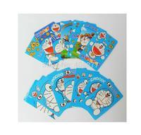 Cute Doraemon Cartoon Waterproof PVC Card ID Protector Sticker
