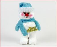 10pcs/lot free shipping Fashion Feet Snowman Santa claus christmas tree decoration,fashion party decoration