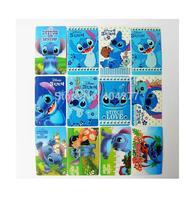 Cute Lilo&Stitch Cartoon Waterproof PVC Card ID Protector Sticker