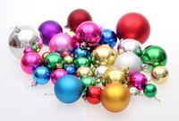 6cm Modelling Polystyrene Styrofoam Foam Ball Sphere XMAS Decoration Craft Rattan Christmas tree ornaments