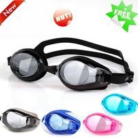 Hot Fashion Anti-fog Speedo Swimming Goggles Large Frame Stylish Super Anti-UV Anti-fog Mirror Swimming Glasses with Box Oculos