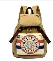 2014 fashion preppy women satchel girl's school bag casual backpack sports bag