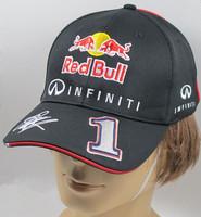 F1 Racing 2014  Racing Sebastian Vettel Driver Cap,Top quality  Embroidered signature Cap