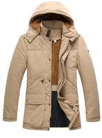 Winter Warm Coat Jackets Outwear Hoodies Cotton Slim Man Parkas Napka Jaqueta Male Jaquetas 2014 New Korean Hooded COAT-282470