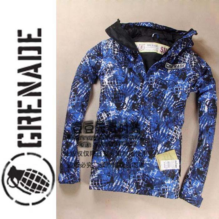 Grenade Shell Jacket Jacket Grenades Polyester