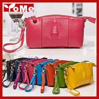 New! Women handbag genuine leather evening bags fashion 3D crocodile lady day clutch women wristlet bags,ANS-SL-126