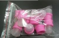 2014 New arrival Fashion Wearable Nail Soak Soakers Polish Remover DIY Acrylic UV Gel Cap Tip Set Free Shopping  50sets/lot
