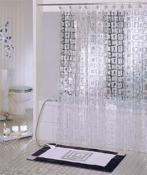 Cortinas De Baño Baratas:de cortina de baño transparente de China, vendedores de cortina de
