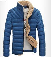 Men's winter Hoodies quilted jacket warm fashion male puffer overcoat parka Outwear Winter cotton sport hooded down coat  106