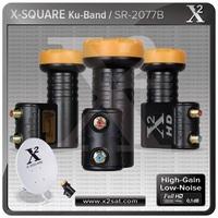 X2-Twin Lnb 0.1db ,Full Hd Best Performance (Universal Ku Band)