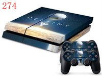 Destiny sky Skin Stickers decal cover For PS4 Controller