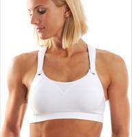 La Isla Rebound Racer Fitness Level 3 Sport Bra Intimates White Black Gray 32 34 36 38 40 42 B C D DD