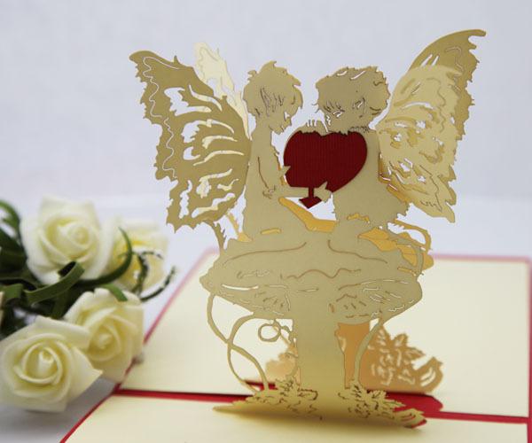 Handmade Paper Gifts For Girlfriend Angel Heart girlfriend