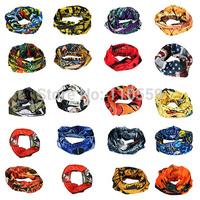 20 Types Unisex Sports Scarf Seamless Textured Weave Magic Scarf Scarves Variety Turban Headband Veil Face Mesh Bandanas