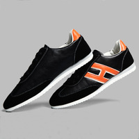 new 2014 men casual shoes men sneakers British style male fashion blazer shoes men loafers soft leather shoes XMB057