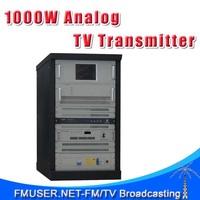 FMUSER CZH518A-1KW 1KW 1000W Analog TV Transmitter For TV Station 4U Rack