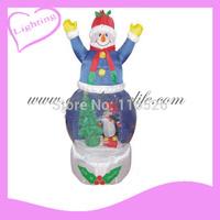 2014 Gus-LT-241  LED Fashion inflatable christmas santa claus, decoration santa claus, inflatable christmas santa claus