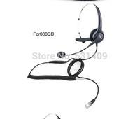 HD voice Hion For600 RJ9 Crystal QD professional Single ear headset,call center headset, telephone earphone,VoIP Phone headphone