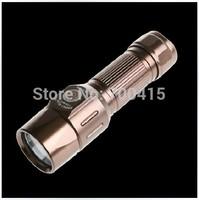 2014 New arrive torch lanterna high-quality mini gold led flashlight penlight practical 2000 lumen