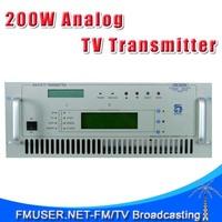 FMUSER CZH518A-200W 200W Analog TV Transmitter For TV Station 4U Rack