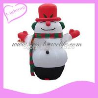2014 Gus-LT-242  LED Fashion inflatable christmas santa claus, decoration santa claus, inflatable christmas santa claus