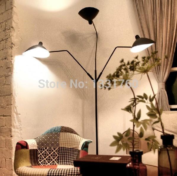 Serge Mouille Pole Floor Lamp
