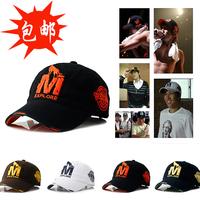 Hiphop hat summer male m baseball cap embroidery cap sunbonnet sun hat female